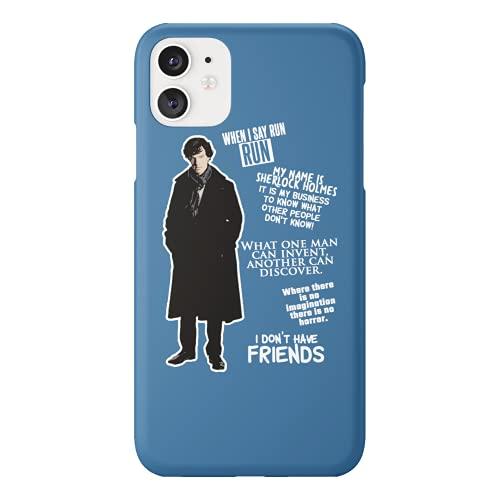 Detective Quotes Believe It Sherlock Holmes Funda de plástico duro para teléfono inteligente móvil Funda divertida para Huawei P10 Lite