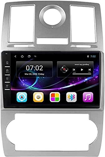 Navegador de coche Android 10.0 Radio para Chrysler Aspen 300c 2004-2011 Navegación GPS Unidad principal de 9 pulgadas Pantalla táctil HD Reproductor multimedia Video MP5 con WiFi DSP SWC MirrorLink