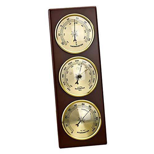 H HILABEE Thermometer Hygrometer Barometer Temperatur Luftfeuchtigkeitsmesser Wetterstation