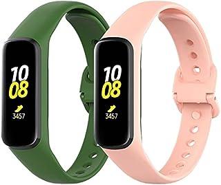 Gransho Correa de Reloj Compatible con Galaxy Fit2 SM-R220, Impermeable Reemplazo Correas Reloj Silicona Banda