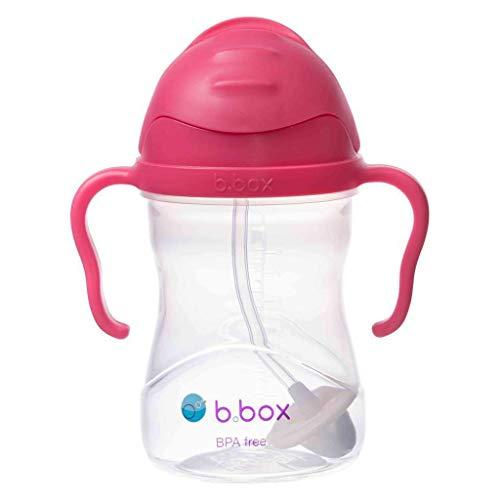 [b.box] シッピーカップ トレーニングマグ トレーニングカップ [ベビー食器 ベビーカップ 赤ちゃん用コップ 贈り物 ギフト ] PVC・BPAフリー 食洗器対応【こだわりの素材とデザイン・b.box正規品】 (ピンク)