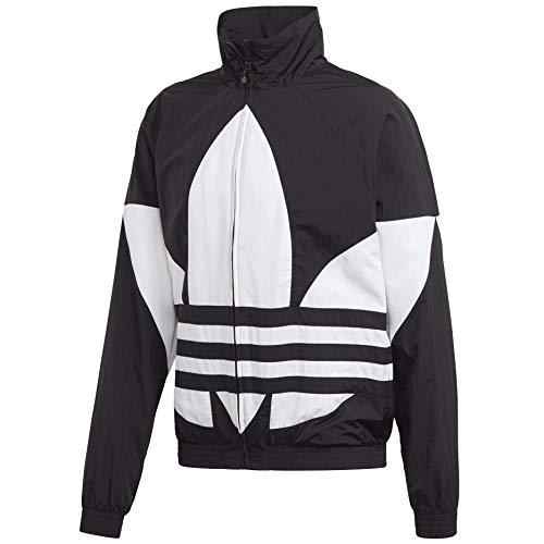 adidas Originals Herren Big Trefoil Track Top Jacke, schwarz, Small