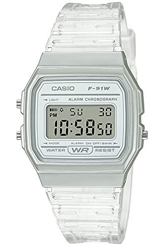 [カシオ] 腕時計 カシオ コレクション F-91WS-7JH ホワイト