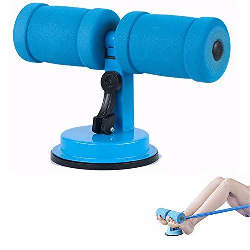 Rodillo Abdominal Barra De Abdominales SuccióN Auto-SuccióN Barra De Abdominales Modelado del Cuerpo Esponja CóModa Ajustable Equipo De Entrenamiento De Fuerza Blue,f