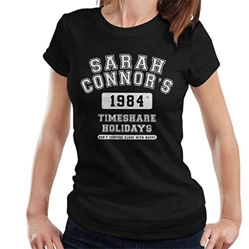 Sarah Connors Timeshare Holidays Terminator Women's T-Shirt