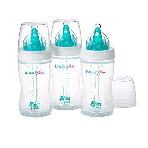 First Years 3 Pack Breastflow Bottle