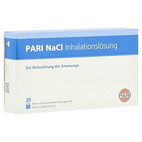 PARI NaCI Inhalationslösung zur Befeuchtung der Atemwege, 20 St. Ampullen