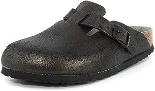 Womens Boston Soft Footbed Antique Black Clog - 41 NAR