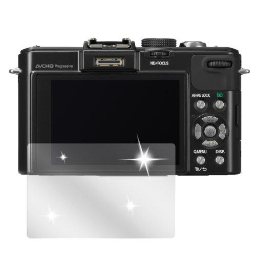 dipos I 6X Schutzfolie klar kompatibel mit Panasonic Lumix LX7 Folie Displayschutzfolie