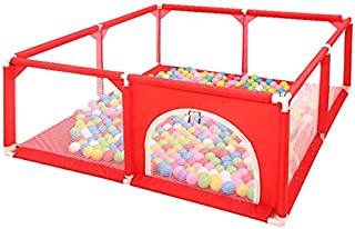 Children s Playpen Box Baby Fence House Shock Resistant Toys Home Safety for Children Playards Crawling Mat  not Included Balls and Mats