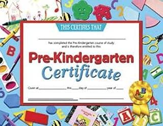 Certificates Pre-Kindergarten 30 Pk 8.5 X 11 Inkjet Laser By Hayes School Publishing