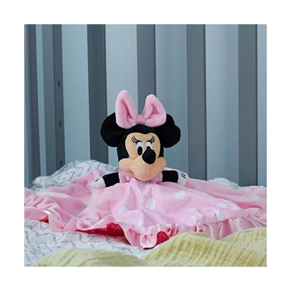 Disney Baby: Minnie Mouse Snuggle Blanky by Kids Preferred by Disney 5