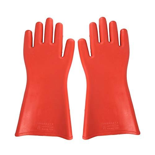 Alupre 12KV Hochspannungs-Proof Gummi isoliert Handschuhe wasserdichte Sicherheit Elektrische Schutzhandschuhe