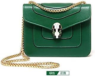 Fashion Green Shoulder Bag For Women Summer Style Chain Crossbody Bag Ladies Dress HandBag