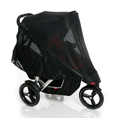 Phil & Teds UV Mesh Bezug für Vibe, Vibe 2oder Verve Doppel Kinderwagen von Phil & Teds