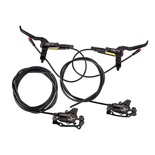 Sharplace Set di Freni a Disco Idraulici per Bici da MTB per Bici da Strada da Montagna, Bici elettriche, Fat Bike, Il miglior Kit di aggiornamento per Lo