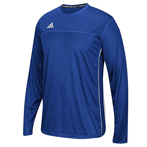 Adidas Climacool Mens Long Sleeve Utility Soccer Jersey 3XL Royal/White