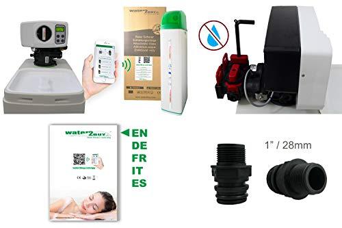 Water2Buy W2B800 Water Softener | Efficient Digital Meter Softener for 1-10 People | 100% Limescale Removed