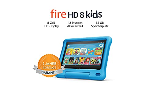 Amazon Fire HD 8 – Kinder-Tablet – Kids Edition (2020) – 8 Zoll, 32 GB
