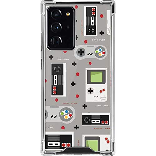 Skinit Clear Phone Case Compatible with Galaxy Note 20 Ultra 5G - Skinit Originally Designed Retro Nintendo Pattern Design