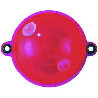 Jenzi Wasserkugel mit 2 Metallösen Rot Clear, 30mm