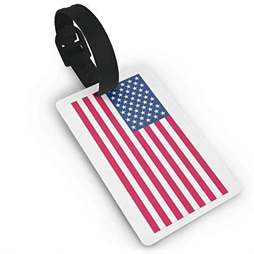 shenguang American Flag Luggage Bag Tags Travel Tags Travel ID Tag