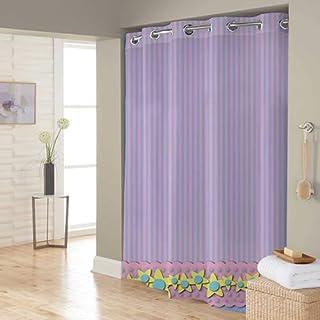 Right Canvas Pink/Blue 180cm x 200cm Shower Curtain - RG138NPIC00092