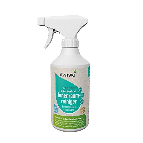 awiwa® Auto Geruchsneutralisierer und Fleckenentferner für Autositze + Sprühflasche