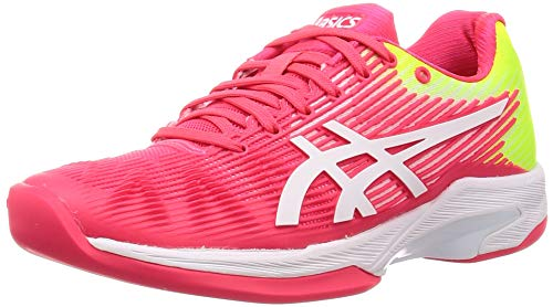 Asics Solution Speed FF Indoor Mujeres Tennis Zapatos 1042A094 Sneakers Trainers (UK 5 US 7 EU 38