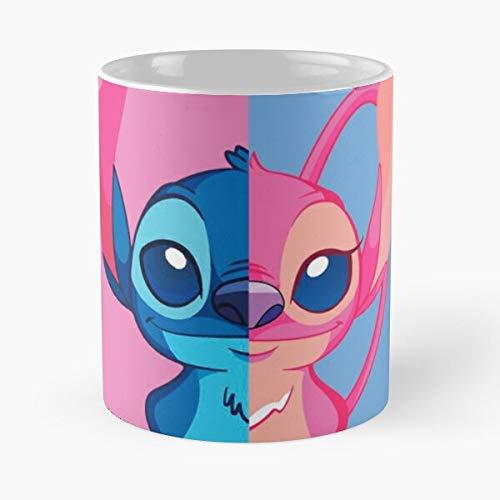 Stitch E Angel - Lilo Classic Mug Funny Gift Coffee Tea Cup...