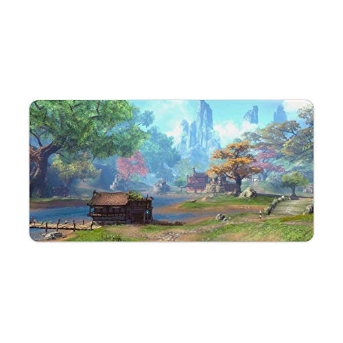 Gaming Mouse Pad Most Beautiful Scene Art Desktop and Laptop 1 Pack 750x400x3mm/29.5x15.7x1.1 in