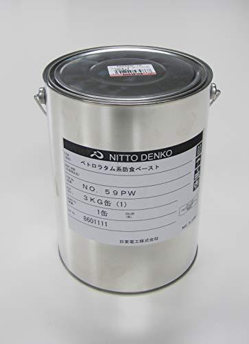 エスコ(ESCO) 防食下塗り材(ペトロラタム系) 3.0kg EA944MK-1A