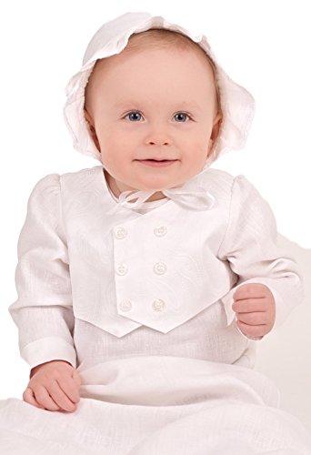 Grace of Sweden - Costume de baptême - Bébé (garçon) 0 à 24 mois blanc blanc 62, 3-6 months, chest 18 in.