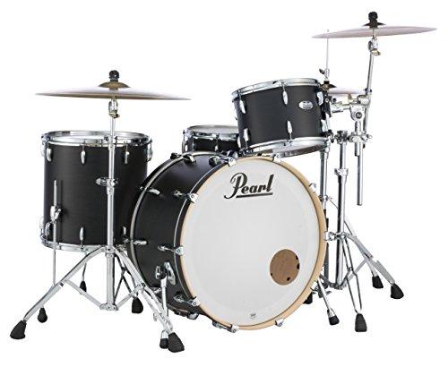 Pearl Masters Maple MCT943XP/C124 Trommelschalen-Set, 3-teilig, Schwarz