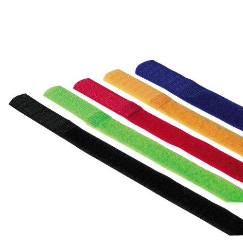 Hama Klettbinder-Streifen (215 mm) 5 Stück, farbig
