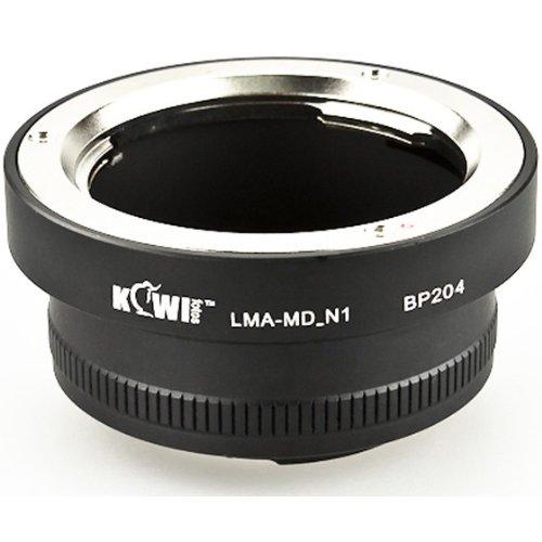 Kiwifotos - Adaptador de montura de objetivo para Minolta SR (MD/MC) a Nikon 1 Compact híbrido