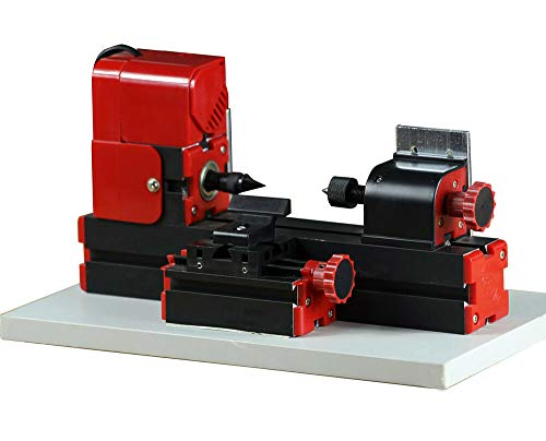 Sale!! ZHOUYU 24W Mini Wood-turning Lathe Machine Edition DIY Power Tool Woodworking Handmade Carpen...