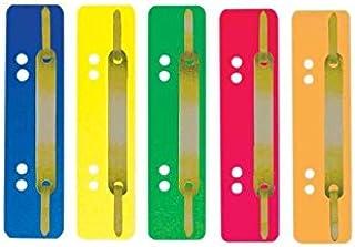 SOE Heftstreifen 3185 gelb mit Metalldeckleiste
