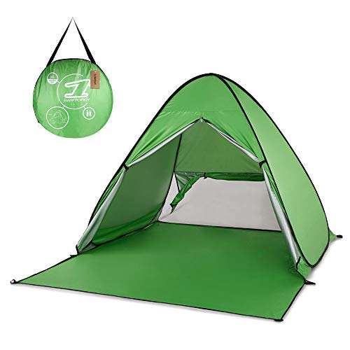 IHCIAIX tent, 165×150×110cm Automatic Tent, Instant Pop Up Beach Tent, Lightweight Protection Sun Shelter Tent, Cabana Tent Outdoor Camping,green