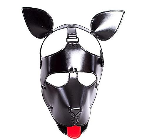 Z-one 1 Cachorro sacando la Lengua con Capucha Cara Sexy Chica máscara...
