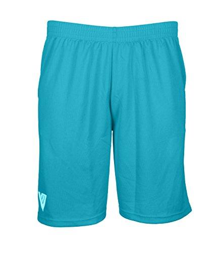 Mens Dri Fit Basketball Shorts (Light Blue, 2X)