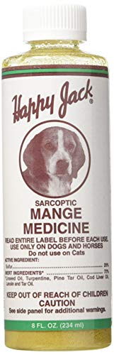 Sarcoptic Mange Medicine - 8 oz - By Happy Jack