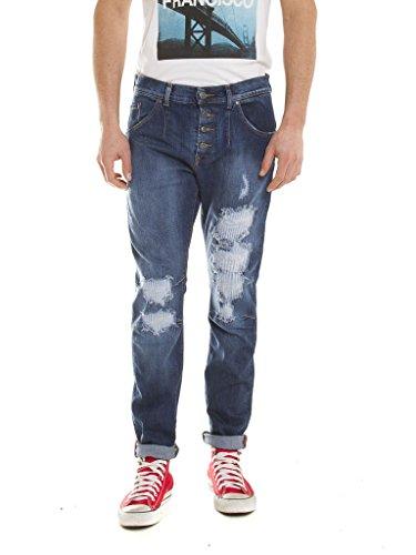 Carrera Jeans - Jeans per Uomo, Look Denim, Tessuto Elasticizzato IT 44