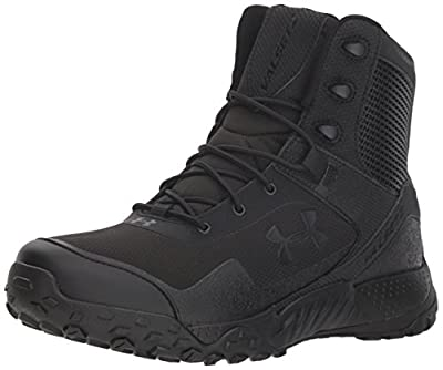 Under Armour Men's Valsetz RTS 1.5 Militaryand Tactical Boot, Black (001)/Black, 9