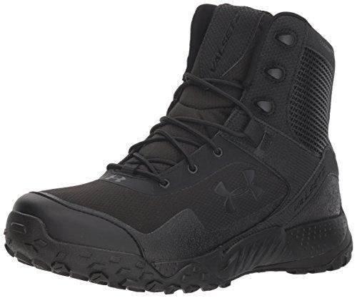 Under Armour UA Valsetz RTS 1.5, Chaussures de Randonnée Basses Homme, Noir (Black (001), 43 EU
