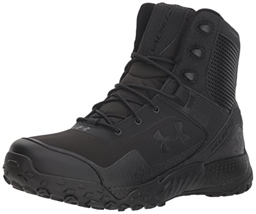 Under Armour Men's Valsetz RTS 1.5 Military and Tactical Boot, Black (001)/Black, 10.5