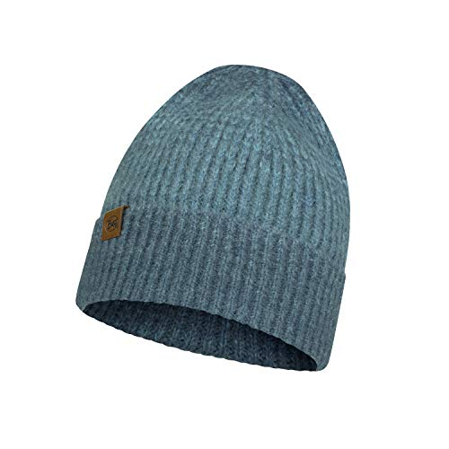 Original Buff Knitted Hat Marin Denim Gorro, Unisex Adulto, Cru, Talla única