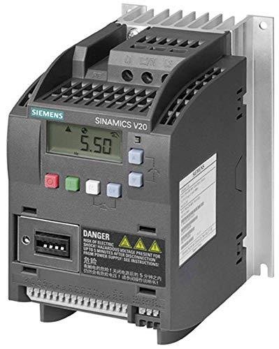 Siemens sinamics v20 - Variador 1ac 380-480v 47-63hz 0,75kw 2,2a