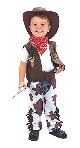 Theme Fancy Dress Disfraz infantil de Vaquero. 3 años