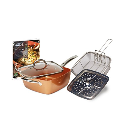 Copper Chef, Cobre, Cobre, 54 x 29.5 x 17.5 cm